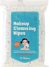 Voňavky, Parfémy, kozmetika Utierky na odstránenie make-upu, 15 ks - Cettua Make Up Wipes