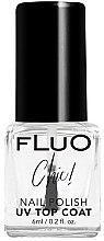 Voňavky, Parfémy, kozmetika Sušiaci povrchový lak na nechty - Constance Carroll Fluo Chic UV Top Coat