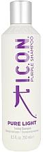 Voňavky, Parfémy, kozmetika Tónovací šampón na vlasy - I.C.O.N. Pure Light Toning Shampoo