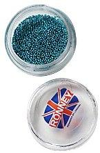 Voňavky, Parfémy, kozmetika Guličky na zdobenie nechtov, 00379, tyrkysové - Ronney Professional Decoration For Nails