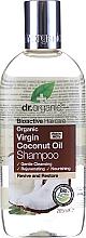 """Voňavky, Parfémy, kozmetika Šampón na vlasy """"Kokosový olej""""  - Dr. Organic Bioactive Haircare Virgin Coconut Oil Shampoo"""
