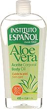"""Voňavky, Parfémy, kozmetika Olej na telo """"Aloe Vera"""" - Instituto Espanol Aloe Vera Body Oil"""