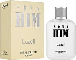 Voňavky, Parfémy, kozmetika Lazell Aqua Him - Toaletná voda