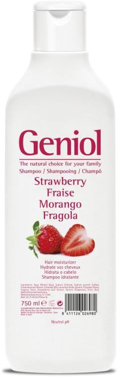 """Hydratačný šampón """"Jahoda"""" - Geniol Shampoo — Obrázky N1"""