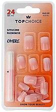 """Voňavky, Parfémy, kozmetika Falošné nechty """"Ombre"""", 78002 - Top Choice"""