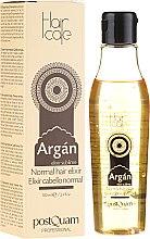 Voňavky, Parfémy, kozmetika Elixír pre normálne vlasy s arganovým olejom - PostQuam Argan Sublime Hair Care Normal Hair Elixir