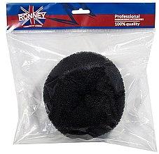 Voňavky, Parfémy, kozmetika Drôtenka do drdolov, 15x6.5 cm, čierna - Ronney Professional Hair Bun 055
