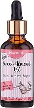Voňavky, Parfémy, kozmetika Olej zo sladkých mandlí s pipetou - Nacomi Sweet Almond Oil