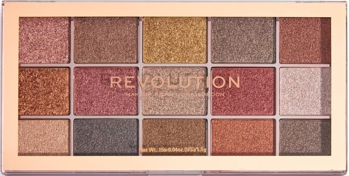 Paleta očných tieňov - Makeup Revolution Foil Frenzy Eye Shadow Palette