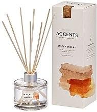 """Voňavky, Parfémy, kozmetika Aromatický difúzor """"Kvetinová kytica, relaxačný jantár"""" - Bolsius Fragrance Diffuser Lounge Luxury"""