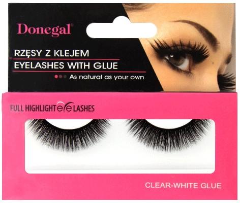 Falošné riasy s lepidlom, 4476 - Donegal Eyelashes