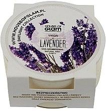 Voňavky, Parfémy, kozmetika Vonná sviečka - House of Glam Virgin Lavender Candle (mini)