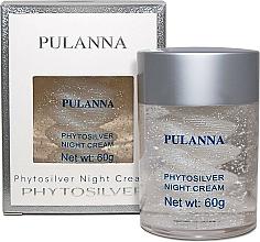 Voňavky, Parfémy, kozmetika Nočný krém na tvár na báze striebra - Pulanna Phytosilver Night Cream