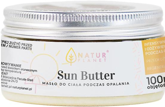 Slnečné maslo - Natur Planet Sun Butter