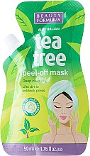 Voňavky, Parfémy, kozmetika Maska-fólia na tvár - Beauty Formulas Tea Tree Peel-Off Mask