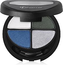 Voňavky, Parfémy, kozmetika Očné tiene na viečka - Flormar Compact Quartet Eye Shadow