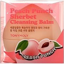 Voňavky, Parfémy, kozmetika Broskyňový sorbet na čistenie pleti - Tony Moly Peach Punch Sherbet Cleansing Balm