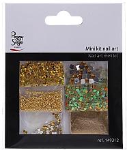 Voňavky, Parfémy, kozmetika Sada na dizajn nechtov, 149312 - Peggy Sage Mini Kit Nail Art (6ks)