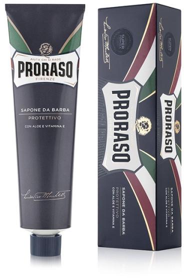 Holiaci krém s aloe a vitamínom E - Proraso Blue Line Shaving Cream Super Formula