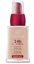 Voňavky, Parfémy, kozmetika Make-up s koenzýmom Q10 - Dermacol 24h Control Make-Up