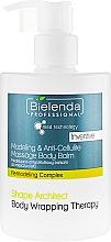 Voňavky, Parfémy, kozmetika Anticelulitídový balzam na telo - Bielenda Professional Med Technology Massage Body Balm