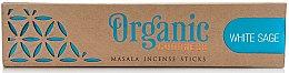 Voňavky, Parfémy, kozmetika Vonné tyčinky - Song Of India Organic Goodness White Sage
