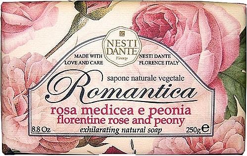 "Mydlo ""Florentine Ruže a pivonky"" - Nesti Dante Romantica Soap"