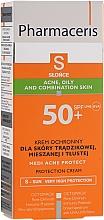 Voňavky, Parfémy, kozmetika Opaľovací krém pre pleť s akné - Pharmaceris S Medi Acne Protect Cream SPF50