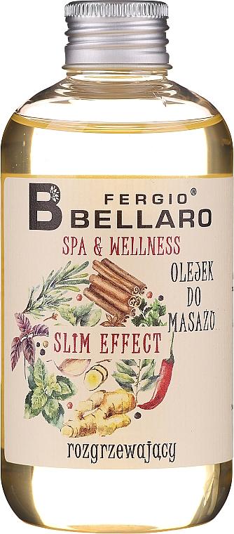 Masážny olej - Fergio Bellaro Massage Oil Slm Effect