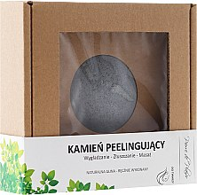 Voňavky, Parfémy, kozmetika Prírodný kameň na peeling na tvár, sivá - Pierre de Plaisir Natural Scrubbing Stone Face