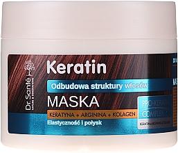 Voňavky, Parfémy, kozmetika Maska pre matné a krehké vlasy - Dr. Sante Keratin Mask