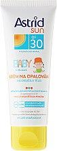 Voňavky, Parfémy, kozmetika Detský opaľovací krém - Astrid Sun Baby Cream SPF 30