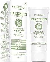 Voňavky, Parfémy, kozmetika Tonálny BB krém - Deborah Milano Formula Pura BB Cream 5in1