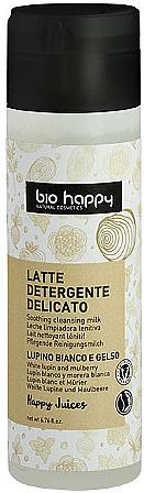 "Čistiace mlieko na tvár ""Biela lupina a moruša"" - Bio Happy Face Milk Cleanser"