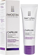 Voňavky, Parfémy, kozmetika Spevňujúci nočný krém pre tvár - Iwostin Capillin Intensive Cream SPF 20