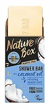 Voňavky, Parfémy, kozmetika Tuhé sprchové mydlo s kokosovým olejom - Nature Box Coconut Oil Shower Bar