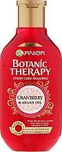 Voňavky, Parfémy, kozmetika Šampón na farbené vlasy - Garnier Botanic Therapy Argan Oil & Cranberry Shampoo