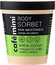 """Voňavky, Parfémy, kozmetika Krém-sorbet """"Hladkosť pokožky"""" - Cafe Mimi Body Sorbet"""