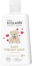 Voňavky, Parfémy, kozmetika Detské krémové mydlo  - Ecolatier Baby Creamy Soap