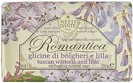 """Voňavky, Parfémy, kozmetika Mydlo """"Wistíria a orgován"""" - Nesti Dante Romantica Tuscan Wisteria&Lilac Soap"""