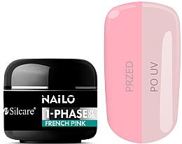 Voňavky, Parfémy, kozmetika Gél na nechty - Silcare Nailo 1-Phase Gel UV French Pink