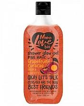 """Voňavky, Parfémy, kozmetika Trblietavý sprchový gél """"Sviežosť a pevnosť"""" - MonoLove Bio Grapefruit-Curacao Shower Glow Gel"""