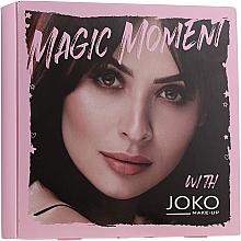 Voňavky, Parfémy, kozmetika Sada - Joko Makeup Magic Moment (eye/shadow/7g + n/polish/10ml + mascara/9ml)