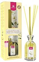 """Voňavky, Parfémy, kozmetika Aromatický difúzor """"Jasmín a biele kvety"""" - Cristalinas Reed Diffuser"""