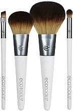 Voňavky, Parfémy, kozmetika Sada štetcov na líčenie, 4 ks - EcoTools On-The Go Style