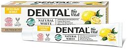 """Voňavky, Parfémy, kozmetika Zubná pasta """"Prirodzená belosť"""" - Dental Bio Vital Natural White Toothpaste"""