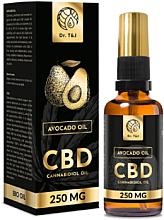 Voňavky, Parfémy, kozmetika Prírodný avokádový olej Bio CBD 250mg - Dr. T&J Bio Oil