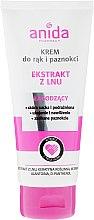 Voňavky, Parfémy, kozmetika Krém na ruky a nechty - Anida Pharmacy Linen Extract Hand Cream
