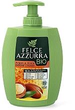 """Voňavky, Parfémy, kozmetika Tekuté mydlo """"Arganový olej a med"""" - Felce Azzurra BIO Argan & Honey Liquid Soap"""