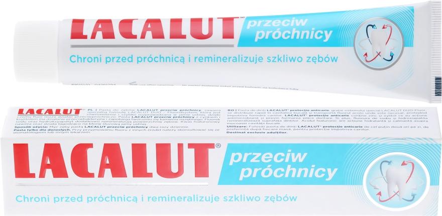 Zubná pasta proti zubnému kazu - Lacalut — Obrázky N1